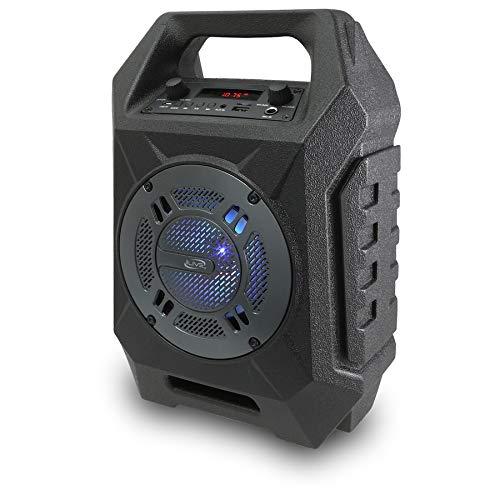 iLive Portable Bluetooth Tailgate Speaker, 6.45 x 6.3 x 13.9