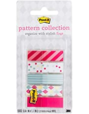 """Post-it 684-CANDY Pattern Carnival Pattern Flags Collection, 0.47X1.7"""", 100 Flags"""