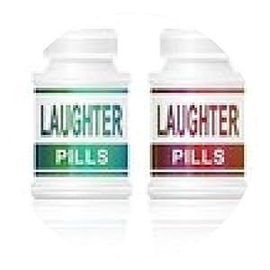 alfombrilla de ratón pastillas para la risa. - ronda - 20cm