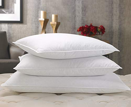 "Marriott Feather & Down Pillow - Dual Chamber Pillow Feather and Down Pillow - Standard (20"" x 26"")"