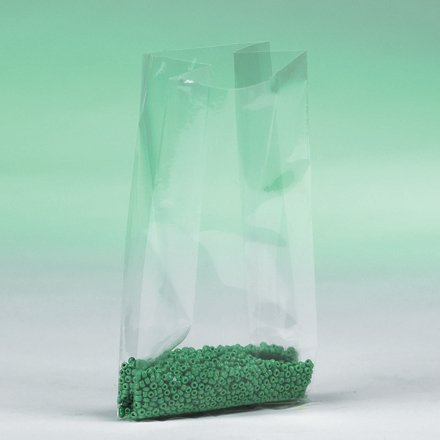"""Price comparison product image 4"""" x 2"""" x 8"""" - 1 Mil Gusseted Poly Bags (1000/Case)"""