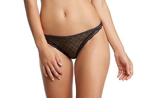 Jezebel Women's Marni Thong, Black, Large