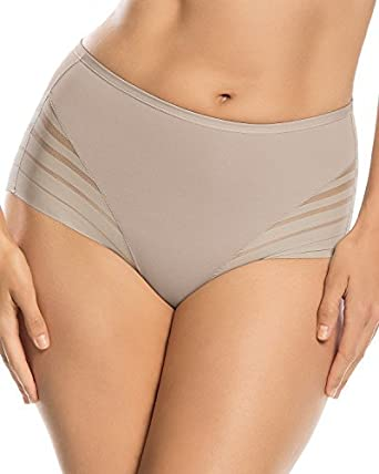 5a70fef15 Leonisa Women s No Show Invisible Comfy Tummy Control Classic Panty