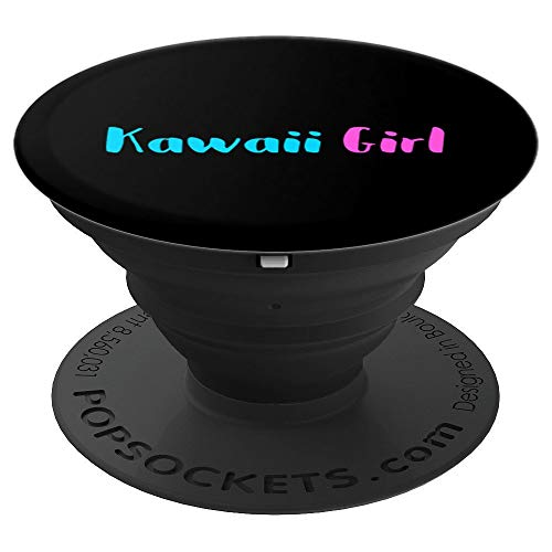 Kawaii Girl Cute Japan Anime Harajuku Japanese Culture Tokyo PopSockets Grip and Stand for Phones and Tablets