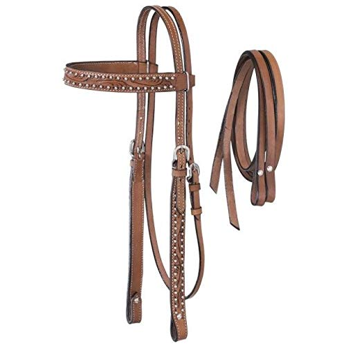 - King Series Braden w/Silver Headstall/Reins Md O