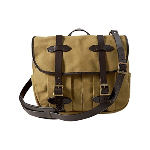 Filson Unisex Medium Field Bag Tan 1 One Size (Medium Field Bag)
