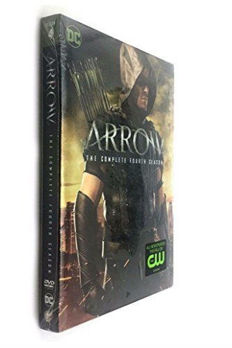 Arrow: The Complete Fourth Season 4 (DVDs, 2016, 5-Disc Set)
