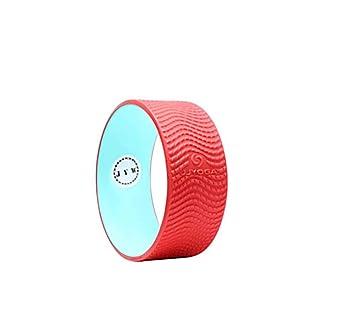 HHH Rueda de Yoga Roja Elegante para Aumentar la ...