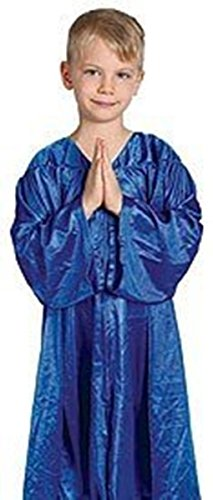 [Catholic Brands Juniors Church Choir Robe Blue One Size] (Church Choir Costumes)