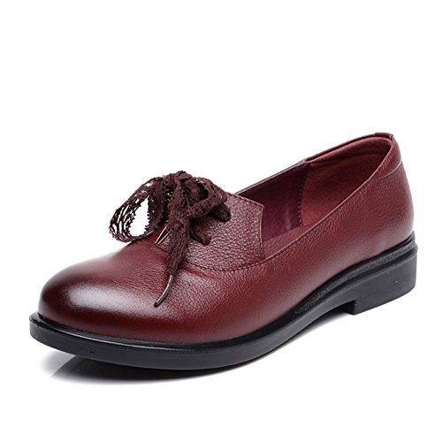 Zapatos de mujer casual/Fondo suave media de zapatos de mujer/Madre de zapatos de moda/ resbalón zapatos de las mujeres A