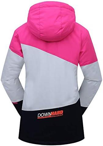 PHIBEE Girls' Sportswear Waterproof Windproof Snowboard Ski Jacket