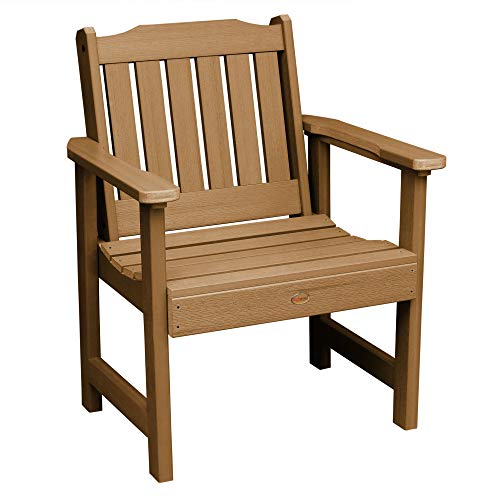 Highwood AD-CHGL1-TFE Lehigh Garden Chair, Toffee (Garden Chair Plastic)
