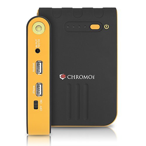 Chromo Inc Emergency Roadside Multi-Function Jump Starter Kit