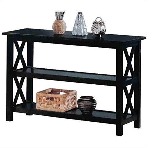 Briarcliff Sofa Table with 2-shelf Dark Merlot