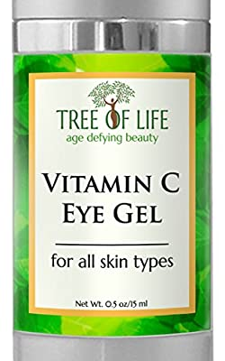 ToLB Vitamin C Anti Aging Eye Moisturizer Cream - Anti Aging Anti Wrinkle Eye Cream Vitamin C Eye Gel