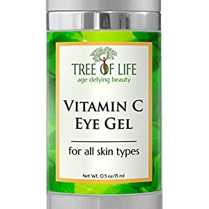 ToLB Vitamin C Anti Aging Eye Moisturizer Cream - Anti Aging Anti Wrinkle Eye Cream Vitamin C Eye Gel