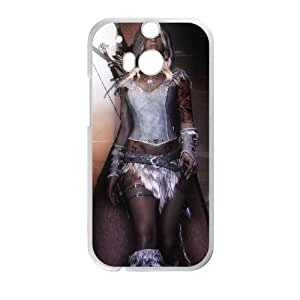 The Elder Scrolls V Skyrim HTC One M8 Cell Phone Case White Customized Toy pxf005-7813866