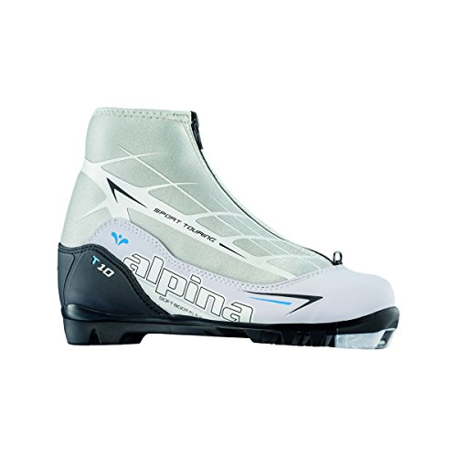 Alpina T10 Eve Touring Boot - Women's White/Black, 42.0 by Alpina