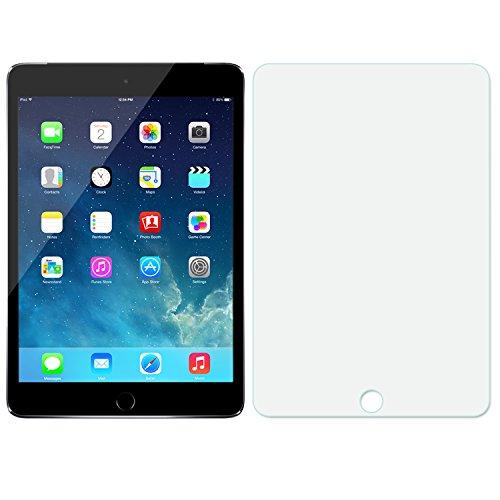 MoKo Screen Protector for iPad Mini 4, [Tempered Glass][Oleophobic Coating][Bubbles-free] for Apple iPad Mini 4 2015 Tablet