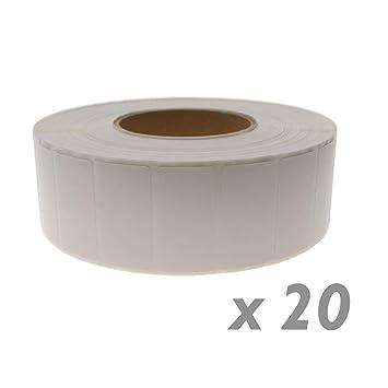 BeMatik - Rollo Bobina de 4500 Etiquetas Adhesivas para Impresora ...