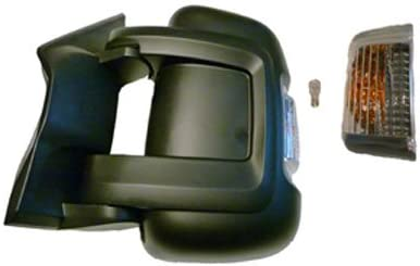 kurzer Spiegelarm Original Fiat Au/ßenspiegel links elektrisch verstellbar Temperaratursensor 16 W Fiat Ducato Typ 250 OE 735620699