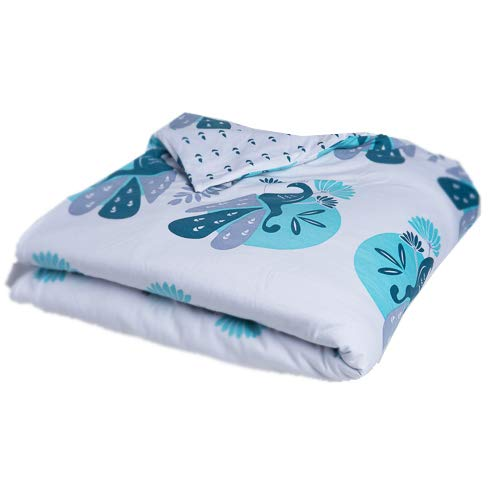 Nogili Crib Duvet Cover Hypoallergenic 100% Organic Cotton, for Boys and Girls, Bonus: Watch Sheet Design Come to Life on Tablet and Phone by NOGILI