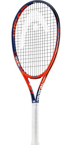 HEAD Graphene Touch Radical PWR Extended/Oversized 16×19 Tennis Racquet (4 1/8″ Grip) Strung with Pink Color String (Best Racket for Power and Comfort) For Sale