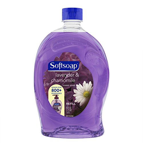 Softsoap Liquid Hand Soap Refill, Lavender and Chamomile, 56 Ounce