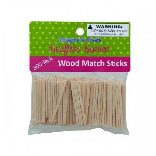 有名なブランド Kole Imports CC881 B01K1ULFAW Wood Craft Imports Craft Matchsticks [並行輸入品] B01K1ULFAW, EYE MAX:29643e3b --- clubavenue.eu