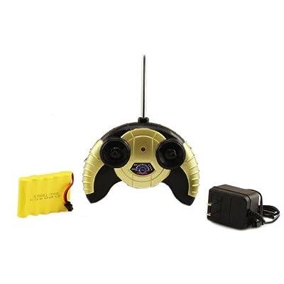 Electric 1:14 Lamborghini Murcielago Roadster Super Sport Full Function RTR RC Car (Yellow) Remote Control: Toys & Games