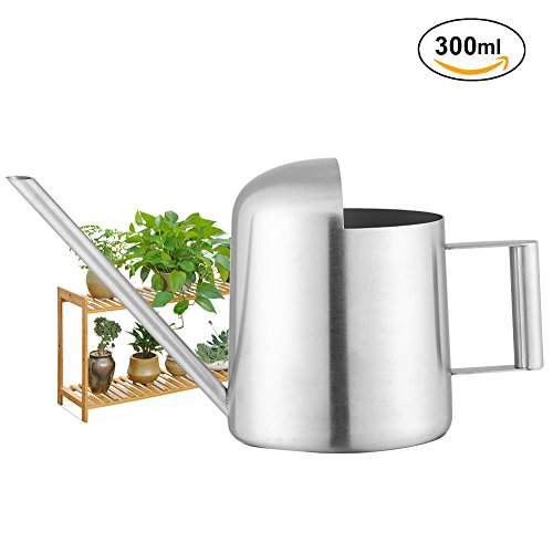 Cheap  Fdit Watering Can Stainless Steel Watering Pot Long Mouth Design for Plants..