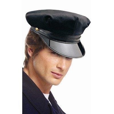 Chauffeur Costumes (Chauffeur Hat in Black)