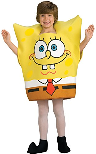 Spongebob Halloween Costume (SpongeBob Squarepants Child's Costume, Medium)