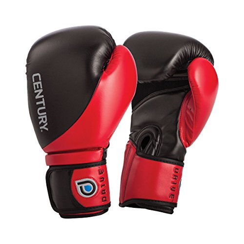 Century 141003P-910716 Drive Boxing Gloves, Red/Black