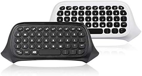 Black//United States Islandgizmo Practical Mini Handheld Keyboard Message for Dropshipping