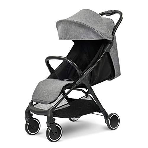 Babysing  Baby Stroller Lightweight City jogging stroller S-go Grey color