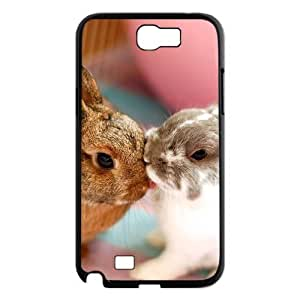 GRTT Gorgeous Samsung Galaxy Note 2 N7100 case Rubbit Customized Bumper Plastic Hard Case RT732532