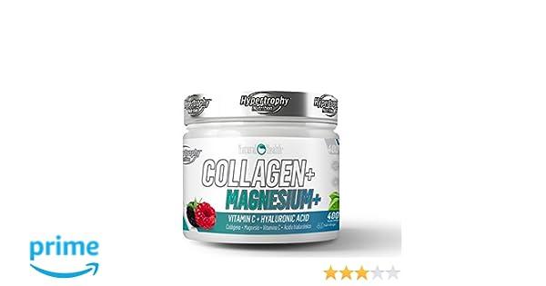 Natural Health Collagen Magnesium - 400 g - Sabor: Frutas del bosque