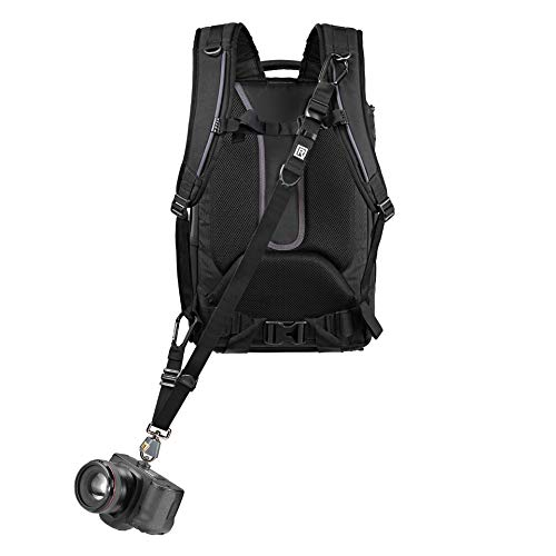 (BlackRapid Breathe Backpack Camera Strap, 1pc of Safety Tether Included)