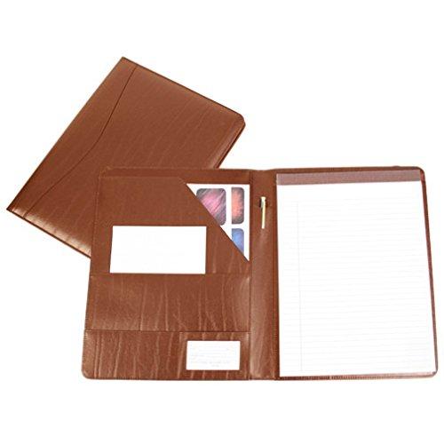 - Royce Leather Genuine Leather Padfolio (Tan)
