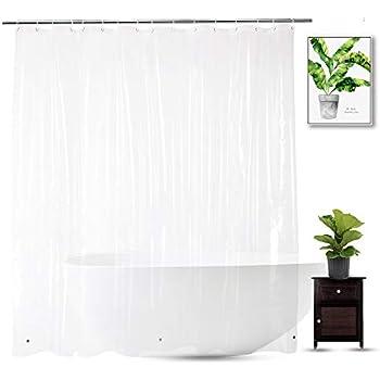 EurCross Extra Wide Shower Curtain Liner 96x72 inch 100/% Waterproof Heavy Duty