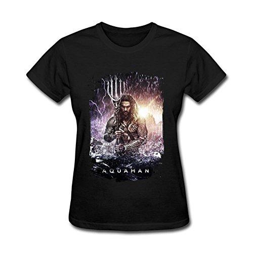 SUNRAIN Women's Jason Momoa As Aquaman Poster 2016 T shirt