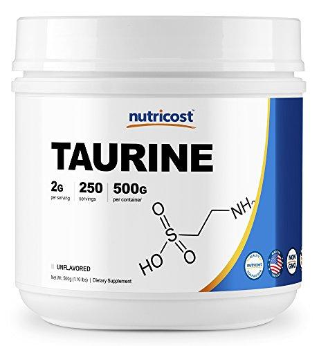 Cheap Nutricost Taurine Powder (500 Grams) – 250 Servings