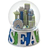 Seattle GlitterSnow GLobe 65mm