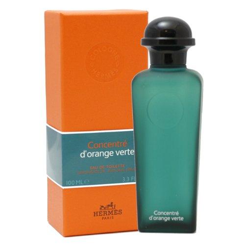 Hermes D'orange Vert Concentre by Hermes for Men. Eau De Toilette Spray 3.3-Ounces (Limited Edition)