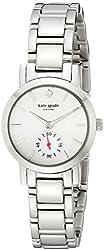 kate spade new york Women's 1YRU0483 Gramercy Mini Stainless Steel Bracelet Watch