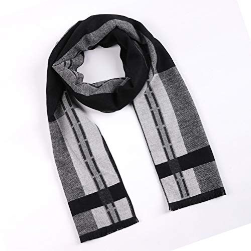 Cashmere Feel Scarf for Winter, Luxurious Unique Design Selection Scarf for Men & Women