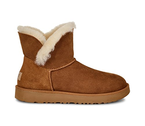 UGG Women's Classic Cuff Mini Winter Boot, Chestnut, for sale  Delivered anywhere in USA