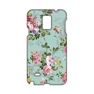 Evil-Store Flowers pattern 3D Phone Samsung Galaxy Note2 N7100/N7102
