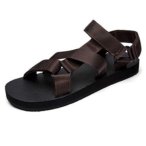 Estivi Colore pantofole 40 EU Scarpe Wagsiyi Spiaggia Uomo Marrone da Da Casual Color Sandali spiaggia Marrone Da Dimensione Scarpe Marrone g6nqEpw